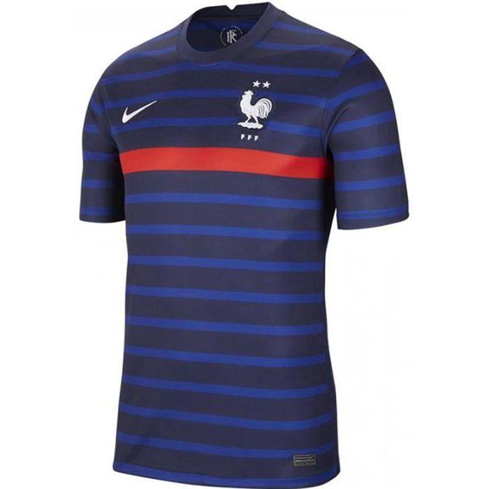 Maillot Equipe de Equipe de France Domicile 2020-2021,Maillot de Foot Enfants Homme Ensemble Survêtements D'entraînement de Football