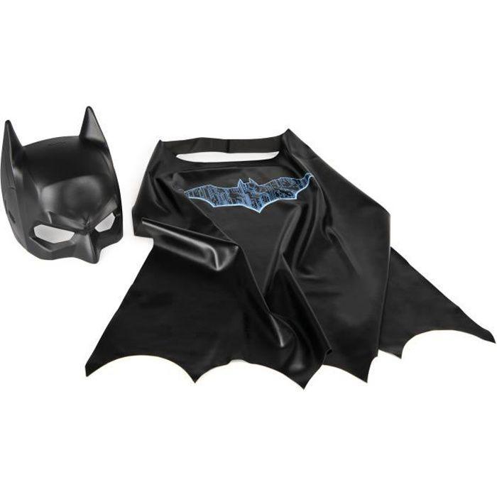 DC COMICS BATMAN - CAPE + MASQUE Batman - 6060825 costume déguisement et accessoires enfant - Univers héros Jeu Jouet Enfant 3 et +
