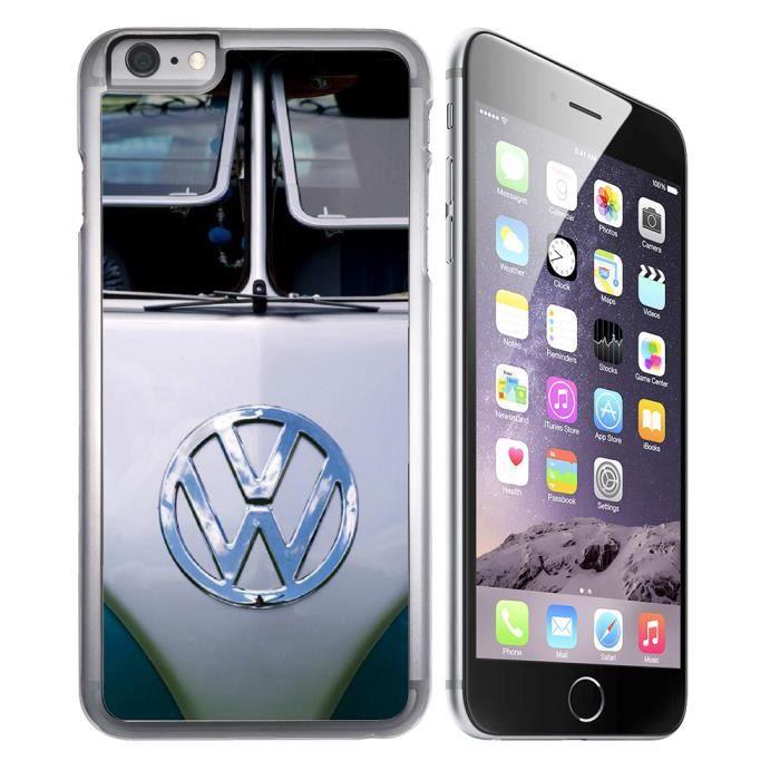 Coque iPhone 8 Combi Van Volkswagen VW Gris - Cdiscount Téléphonie