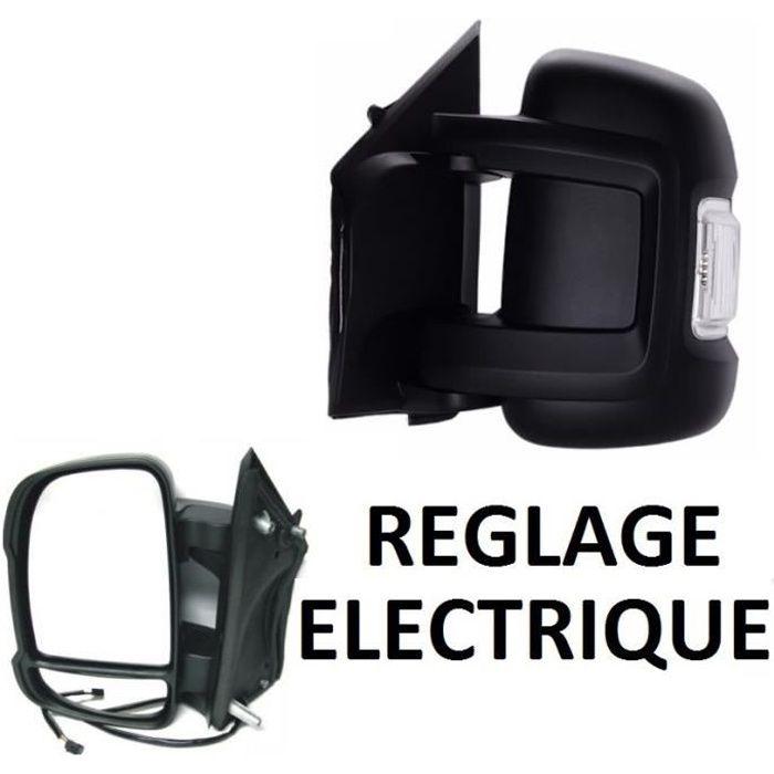/> Porte Miroir Électrique Noir Bras court Paire Gauche /& Droite Peugeot Boxer 2006
