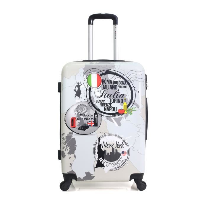 VALISE - BAGAGE BLUESTAR – VALISE CABINE | ABS/PC – 53cm – 4 roues