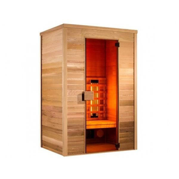 sauna infrarouge multiwave 2 places holl 39 s achat. Black Bedroom Furniture Sets. Home Design Ideas