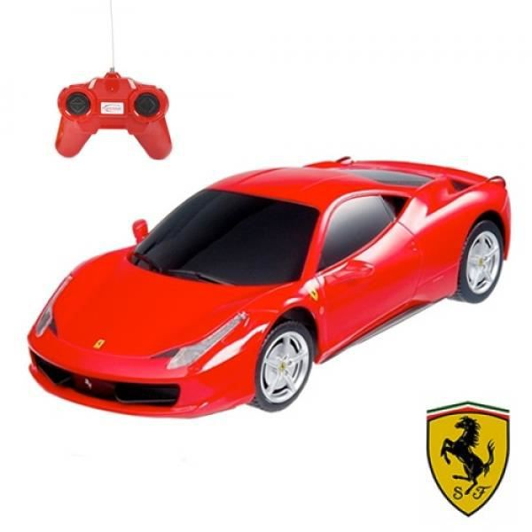 voiture t l command e ferrari achat vente voiture enfant cdiscount. Black Bedroom Furniture Sets. Home Design Ideas