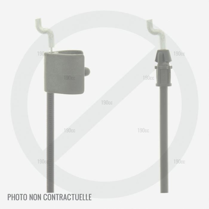 Cable Traction Arret Tondeuse Leclerc Beaux Jours Cl To