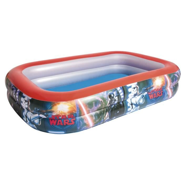 PATAUGEOIRE BESTWAY Piscine gonflable  Familiale rectangulaire