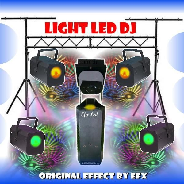 pack jeux de lumiere portique dj 3m slb01 led effets. Black Bedroom Furniture Sets. Home Design Ideas