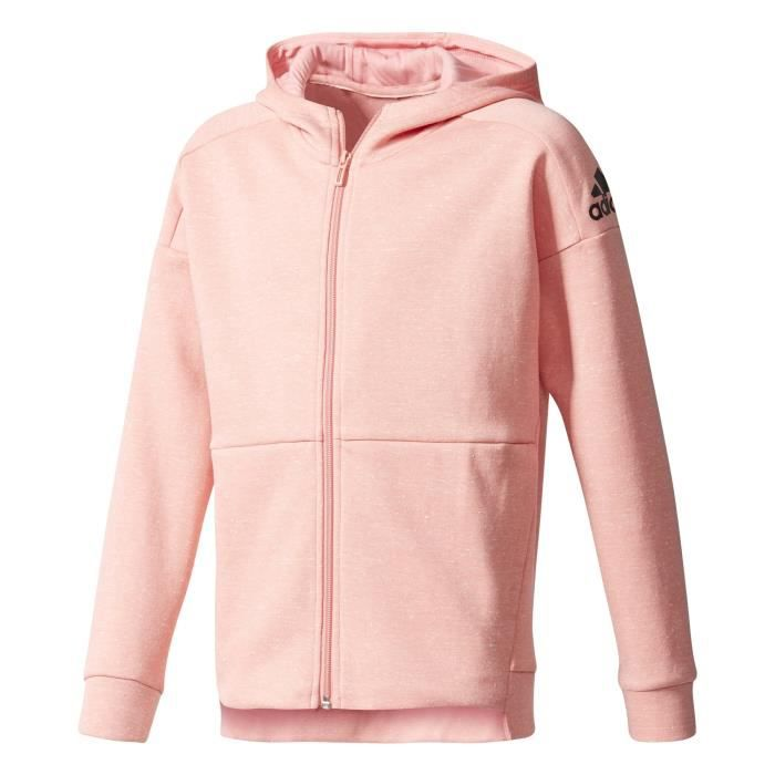 Adidas Femme veste à capuche ID Stadium Rose pas cher