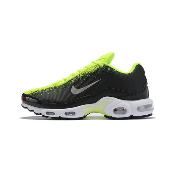 shopping lowest discount to buy Nike Air Max Plus Tn Chaussure pour Homme NOIR VERT - Achat ...
