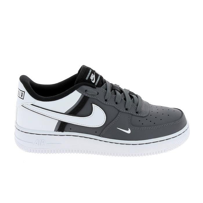 air force 1 gris noir