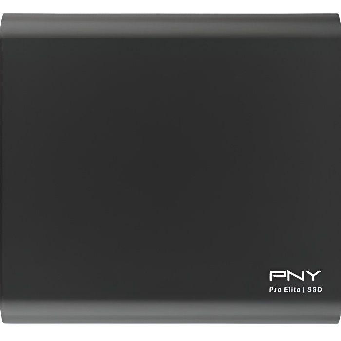 DISQUE DUR SSD EXTERNE PNY Disque Dur SSD Portable Pro Elite - Externe -