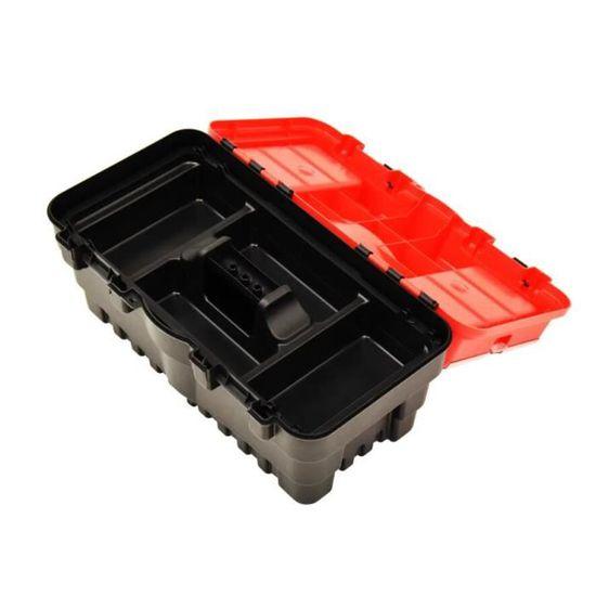 192pcs outil Board Set Plastique Robuste Rouge Rangement bacs montés sur mur