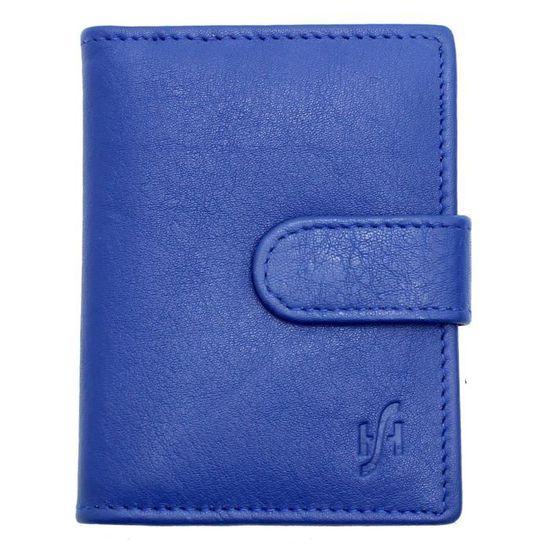 Cuir doux titulaire de carte de crédit avec note section pour 24 cartes de crédit