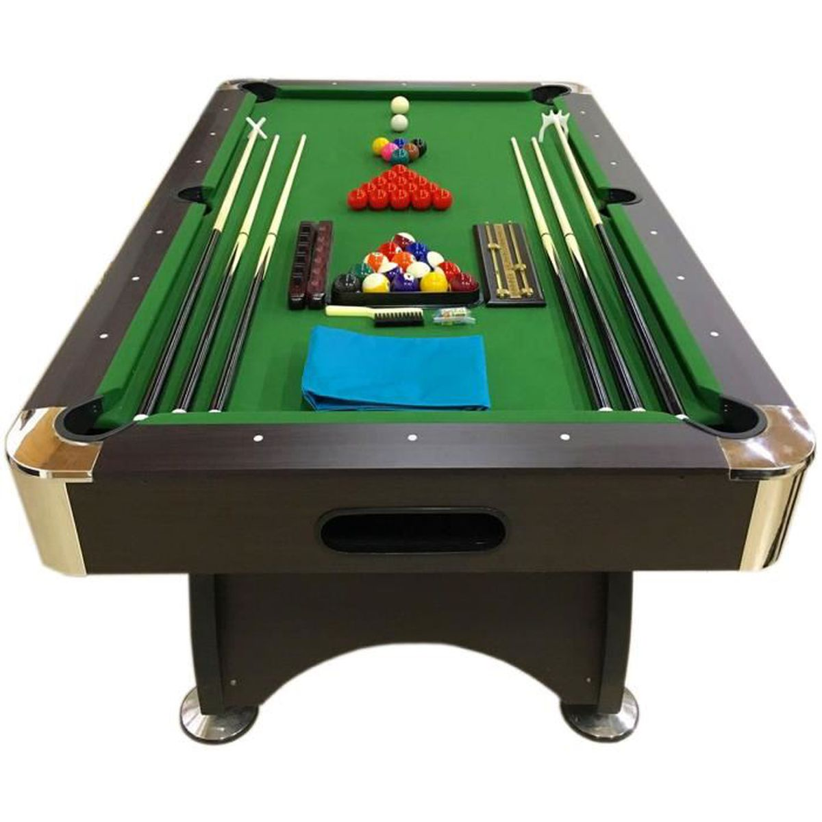 Billard Americain 7ft Neuf Table De Pool Snooker Meuble