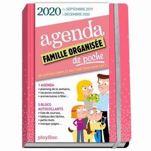 Quo Vadis 1 Agenda Scolaire Journalier Sept 2019 /à Ao/ût 2020 12 x 17 cm Les L/égendaires Fond Vert