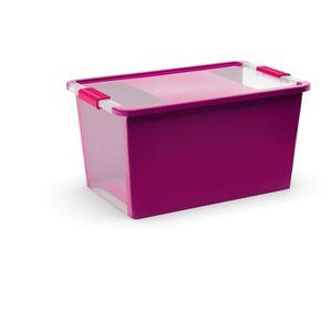 BOITE DE RANGEMENT ABM Boîte de rangement Bi box - 40 L - Violet