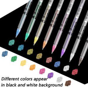 STYLO - FEUTRE PEAU Stylos Fluorescence métalliques Marqueurs Multicol
