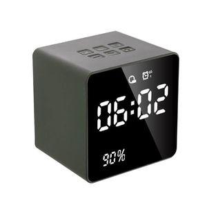 HAUT-PARLEUR - MICRO SHAN NEUFU Haut-parleur FM Bluetooth USB Horloge R