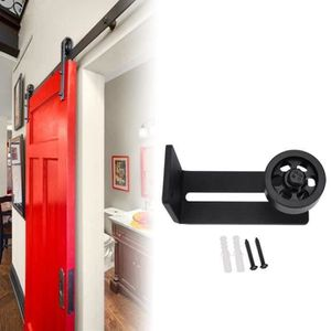 galet r/églable de guidage de plancher pour porte de grange avec 8 options de configuration Jeu de guides de plancher pour porte de grange