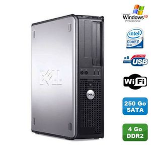 ORDI BUREAU RECONDITIONNÉ PC DELL Optiplex 330 DT Intel Core 2 Duo E4300 1.8