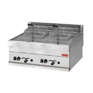 FRITEUSE ELECTRIQUE Friteuse gaz 2x 8 litres 65/70 FRG