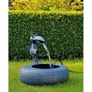 FONTAINE DE JARDIN Fontaine en métal fontaine d'intérieur fontaine de