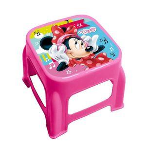 GUIZMAX Tabouret Marche Pied Disney Minnie Enfant marchepied New