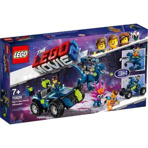 ASSEMBLAGE CONSTRUCTION LEGO® Movie 70826 Le tout-terrain Rex-treme de l'e