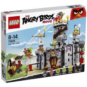 ASSEMBLAGE CONSTRUCTION LEGO® Angry Birds™ 75826 Le Château du Roi Cochon