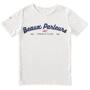 Achat In France T Made Homme Beaux Shirt Blanc Parleurs SpUMVzq