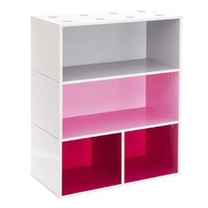 meuble gris et rose achat vente meuble gris et rose pas cher cdiscount. Black Bedroom Furniture Sets. Home Design Ideas