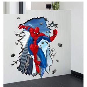 STICKERS Chambre décoration murale stickers stéréoscopiques
