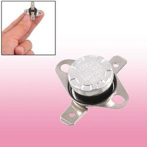 Electronics-Salon 10pcs Interrupteur KSD301 Temp/érature Thermostat bim/étallique Disc pas 90 /°C Normalement ouvert.