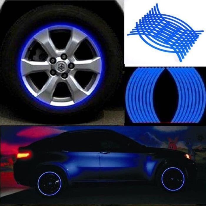 Bandes adhésives réfléchissantes pour les jantes des voitures de la marque 3M™ , série 580 - couleur:Orange