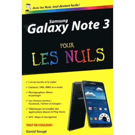 samsung galaxy note 3 pour les nuls achat vente livre daniel roug first interactive. Black Bedroom Furniture Sets. Home Design Ideas