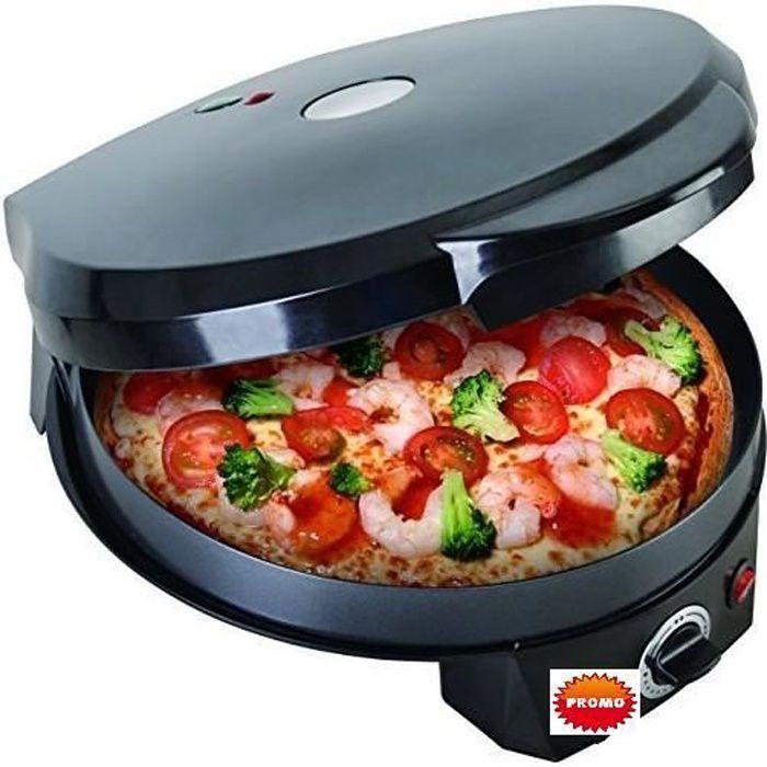 CUISEUR MULTICUISEUR FOUR A PIZZA, TARTE, CRÊPIÈRE, GRILL POÊLE ELECTRIQUE