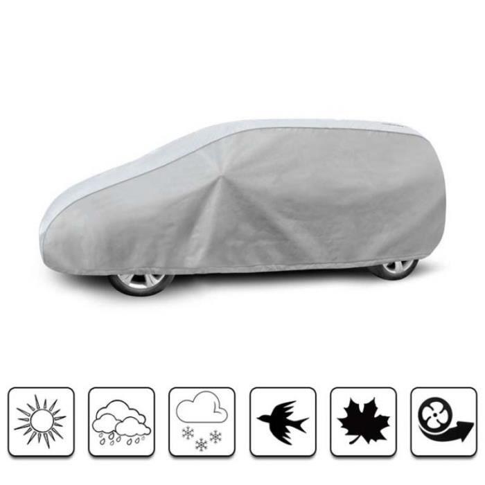 Housse de protection carrosserie auto extérieur Renault Clio 4 Estate - Bâche voiture pour Renault Clio 4 Estate