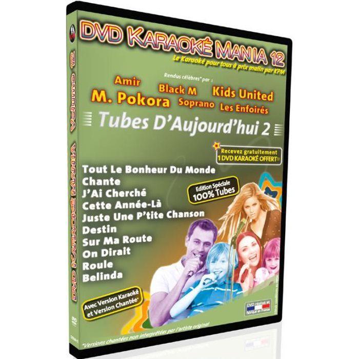 DVD Karaoké Mania Vol.12 -Tubes d'Aujourd'hui 2-