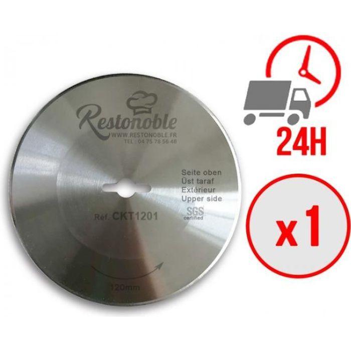 LAME LISSE DE COUTEAU A KEBAB ELECTRIQUE TANDIR 120 (X1) / Ø120 mm / LIVRAISON OFFERTE SOUS 24 HEURES- LAME LISSE DE COUTEAU A KEBAB
