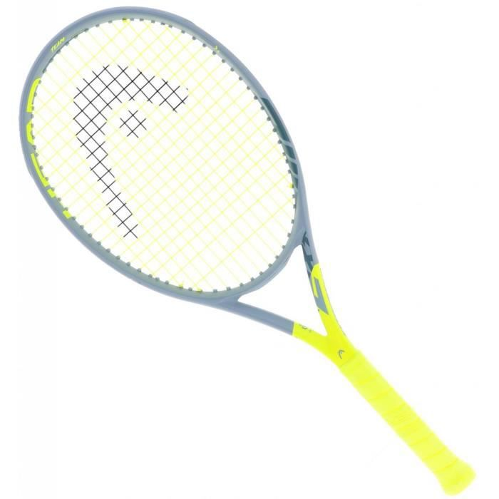 Raquette de tennis Graphene 360 extreme team - Head SL1 Jaune Fluorescent