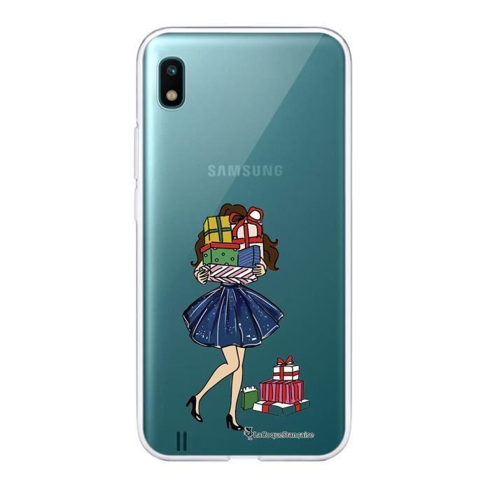 Coque Samsung Galaxy A10 360 intégrale transparente Cadeaux de Noel Ecriture Tendance Design La Coque Francaise