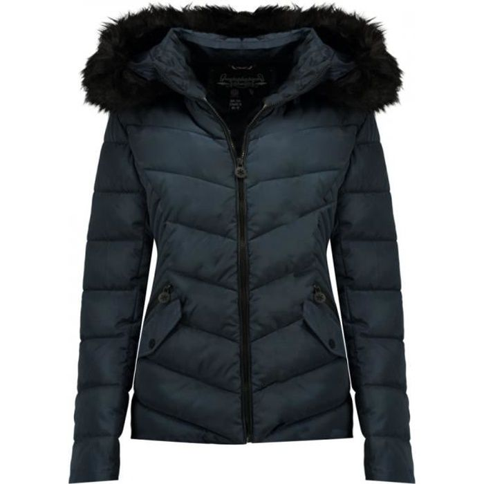 Doudoune Marine Fille Geographical Norway Chips