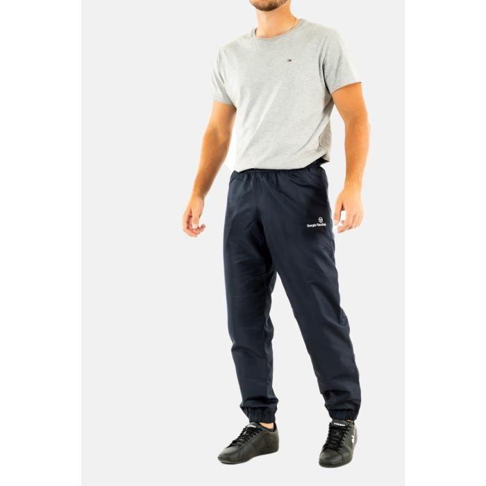 jogging sergio tacchini carson 021 slim 200-nvy/wht XL