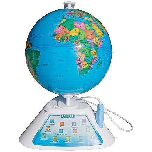 Oregon Scientific Globe intelligents découverte mondiale de l'éducation Géographie - jouets d'apprentissage JID75