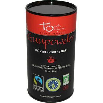 Touch Organic The vert Gunpowder BIO vrac 50g