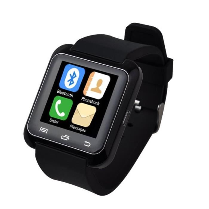 u80 bluetooth 4 0 intelligente pour poignet watch phone pour smartphone android achat vente. Black Bedroom Furniture Sets. Home Design Ideas