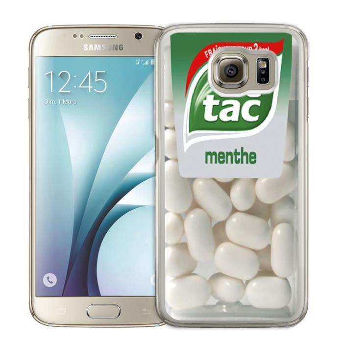 Coque Samsung Galaxy S7 Edge : Tic Tac Menthe