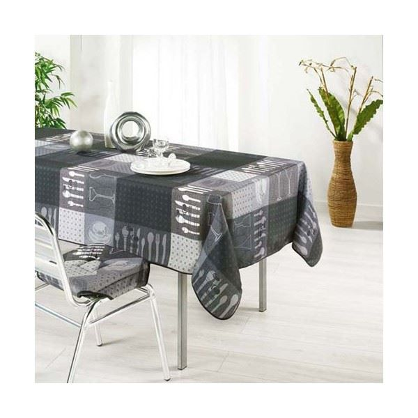 nappe anti tache infroissable achat vente nappe de. Black Bedroom Furniture Sets. Home Design Ideas