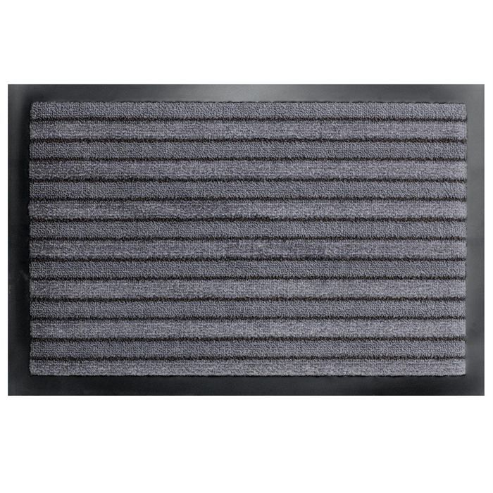 tapis paillasson entr e anti salissures gris achat vente paillasson cdiscount. Black Bedroom Furniture Sets. Home Design Ideas