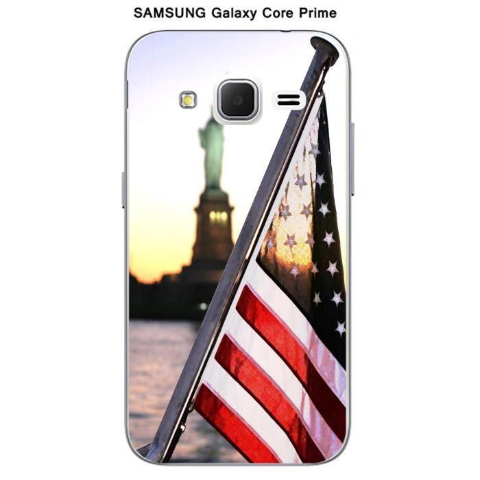 Coque Samsung Galaxy Core Prime New York Drapeau