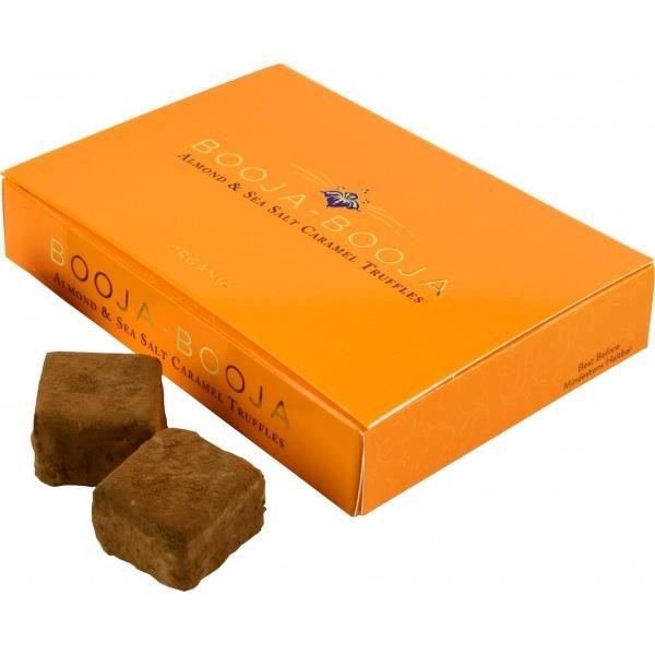 TRUFFES AU CHOCOLAT Booja Booja Truffes aux amandes et au caramel au s